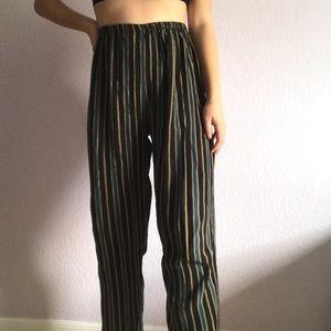 Brandy Stripped Pants